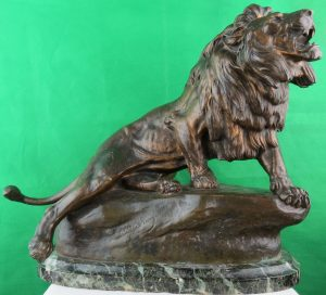 Charles Masson - Bronze Lion - French C.1900 Image