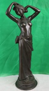 Lady in Bronze by Risbeglio Image