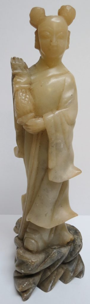 Chinese Soapstone Sculpture - Woman Image