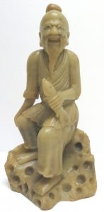 Chinese Soapstone Sculpture - 1900 Image