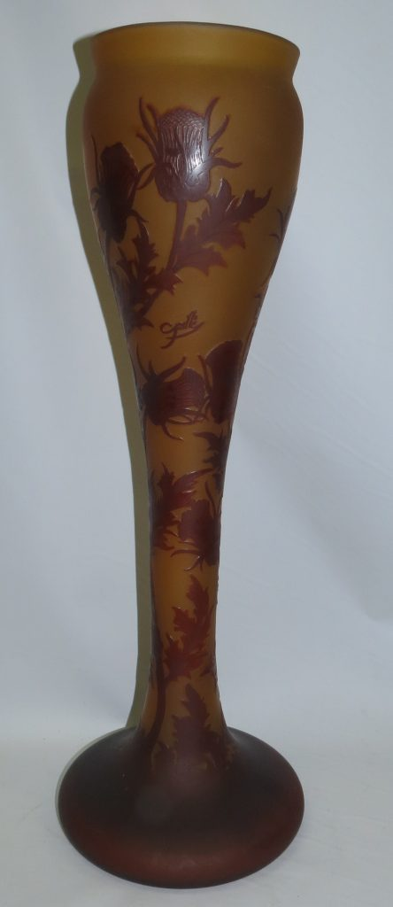 After Galle Vase with flowers Image